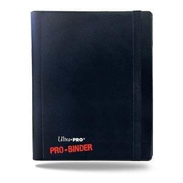 """Альбом """"Ultra-Pro"""" """"PRO-BINDER"""" (со встроенными листами по 2х2 кармашка, для карт в протекторах): черный - фото 20249"""