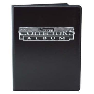 """Альбом """"Ultra-Pro"""" (со встроенными листами по 3х3 кармашка): черный - фото 20253"""