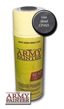 Спрей грунтовка ARMY PAINTER Gun Metal (Металл) - фото 20482