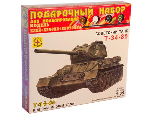 Танк Т-34-85 (1:35) - фото 20535