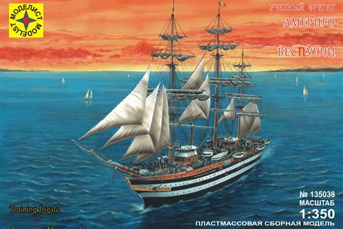 """Учебный фрегат """"Америго Веспуччи"""" (1:350) - фото 20542"""
