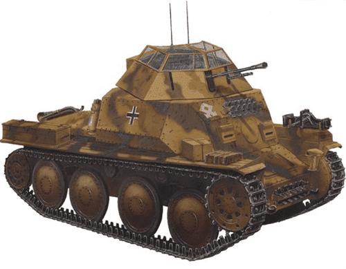 Разведывательный танк 140/1 (1:35) - фото 20546