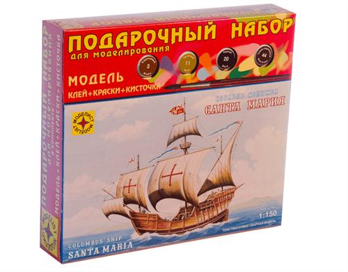 """Корабль Колумба """" Санта-Мария """" (1:150) - фото 20547"""