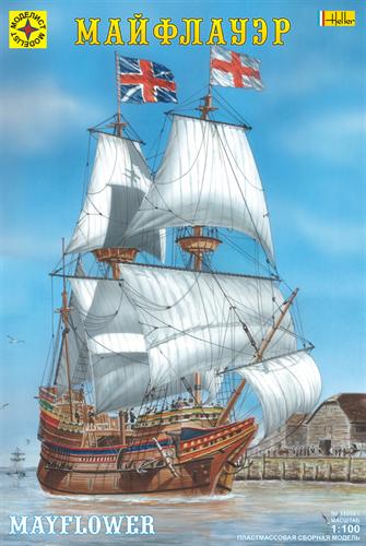 "Корабль  ""Майфлауэр"" (1:100) - фото 20575"