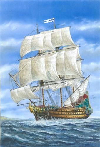 """Линейный корабль """"Гладиатор"""" - фото 20577"""