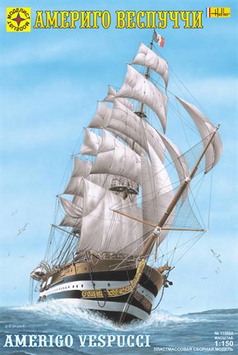 """Корабль  """"Америго Веспуччи"""" (1:150) - фото 20579"""