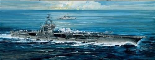 Корабль  U.S.S. AMERICA CV-66 (1:720) - фото 20586
