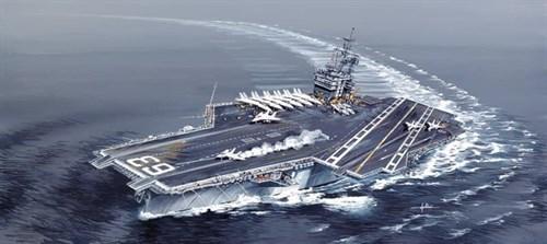 КОРАБЛЬ USS Kitty Hawk CV-63 - фото 20587