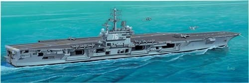 Корабль  U.S.S. RONALD REAGAN CV-76 (1:720) - фото 20589