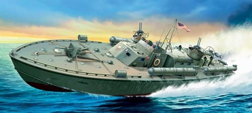 Корабль  MOTOR TORPEDO BOAT PT-109 (1:35) - фото 20597