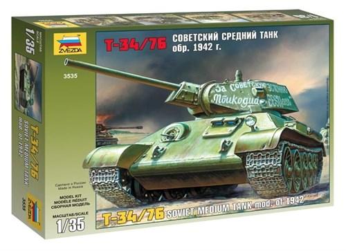 Т-34/76 Советский средний танк обр. 1942 г. - фото 20662