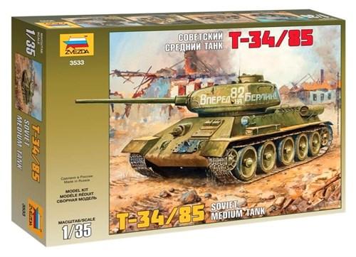 Советский средний танк Т-34/85 - фото 20664