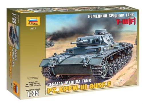 Немецкий танк Т-III (F) (1:35) - фото 20678