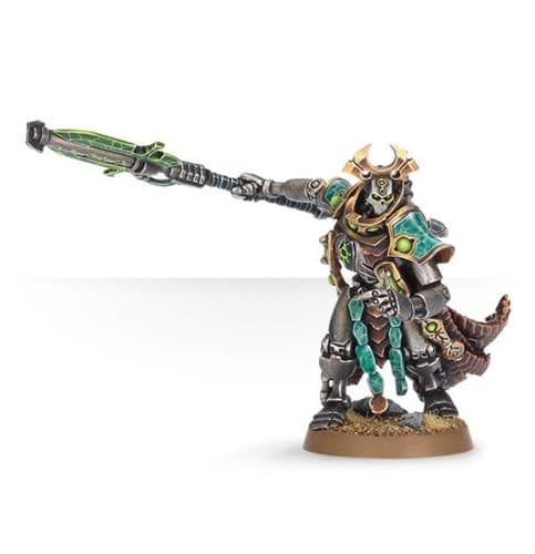 Necron Overlord with Warscythe - фото 20855