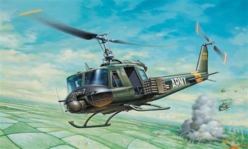 Самолёт  UH-1B HUEY (1:72) - фото 20874