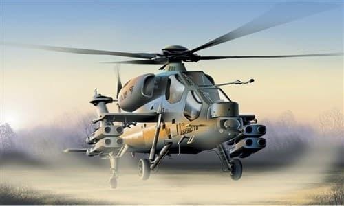 Вертолет  A-129 MANGUSTA (1:72) - фото 20882