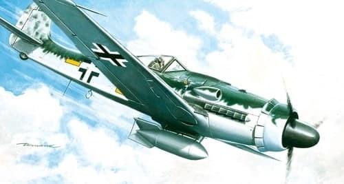 Самолет  FW 190 D-9 (1:72) - фото 20885