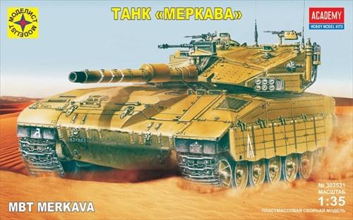 Танк  Меркава (1:35) - фото 20921