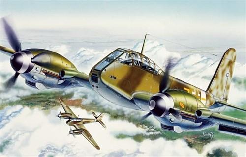 "Самолет  ME 410 ""HORNISSE"" (1:72) - фото 20926"