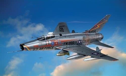 Самолет  F-100 D Super Sabre (1:72) - фото 20939