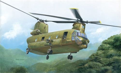 Вертолет  ACH-47E ARMED CHINOOK (1:48) - фото 20950