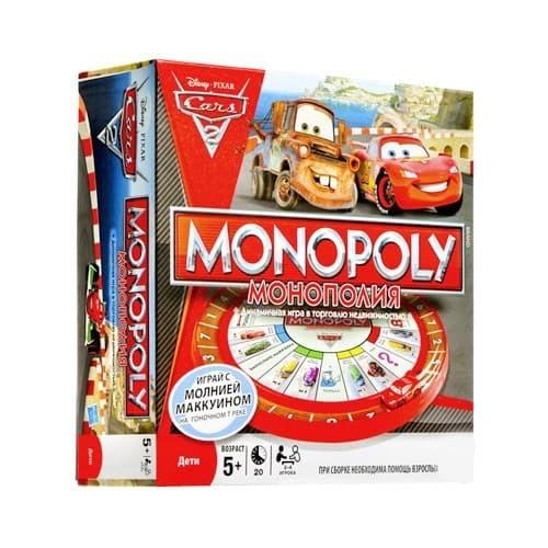 Настольная игра серии Монополии (РУС):  МонополияТачки - 2 - фото 20976