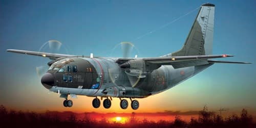 "Самолет  G.222 ""PANDA"" (1:72) - фото 20977"