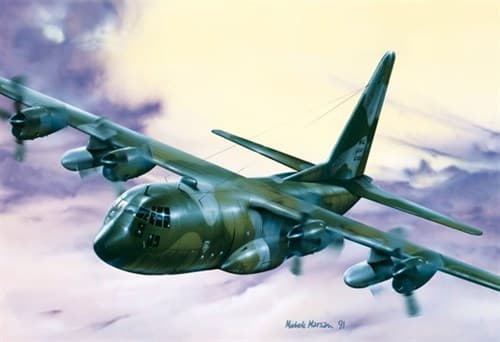 Самолет  C-130 E/H HERCULES (1:72) - фото 20979