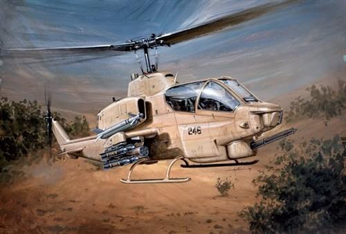 Вертолет  AH-1W SUPERCOBRA (1:48) - фото 21011