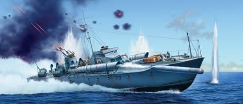 Корабль  VOSPER 72II6I MTB 77 PRM EDITION (1:35) - фото 21114
