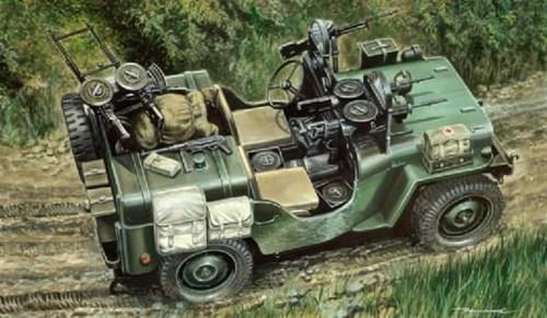 Commando Car Willys Mb (1:35) - фото 21225