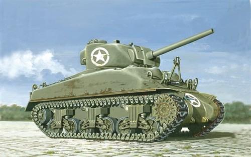 Танк  M 4 SHERMAN (1:72) - фото 21239
