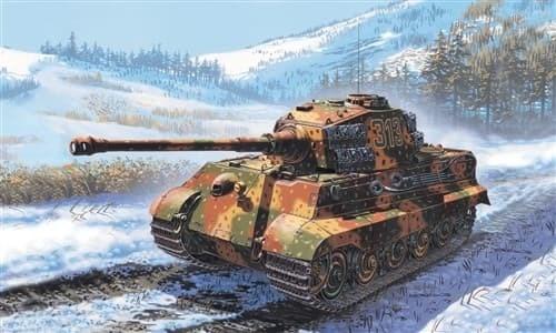 Танк  Sd. Kfz. 182 KING TIGER (1:72) - фото 21240