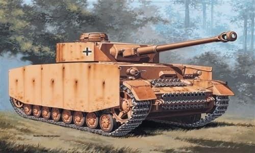 Танк  Pz. Kpfw. Iv (1:72) - фото 21241