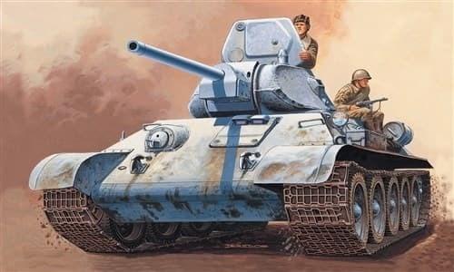 Танк  T 34/76 m42 (1:72) - фото 21242