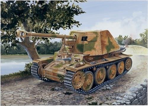 САУ  Sd.Kfz. 138 Panzerjäger Marder III Ausf. H (1:72) - фото 21252