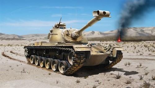 Танк  M48a2c - фото 21257