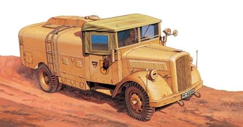 Автомобиль  Kfz. 385 Tankwagen (1:48) - фото 21273