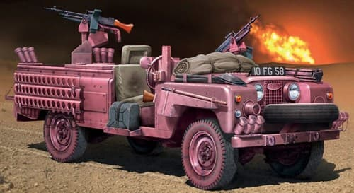 "Автомобиль  S.A.S. RECON VEHICLE ""PINK PANTHER"" (1:35) - фото 21302"