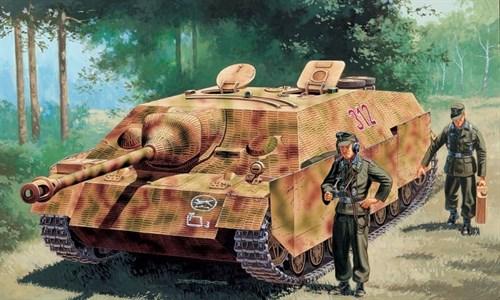 САУ  Sd.Kfz.162 Jagdpanzer IV Ausf.F L/48 late (1:35) - фото 21372