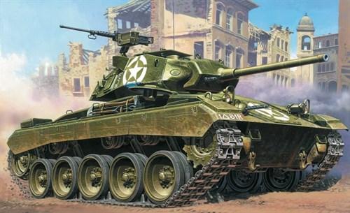 Танк  M24 CHAFFEE (1:35) - фото 21388