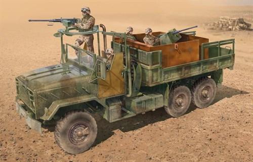 Автомобиль  US ARMOURED GUN TRUCK (1:35) - фото 21396