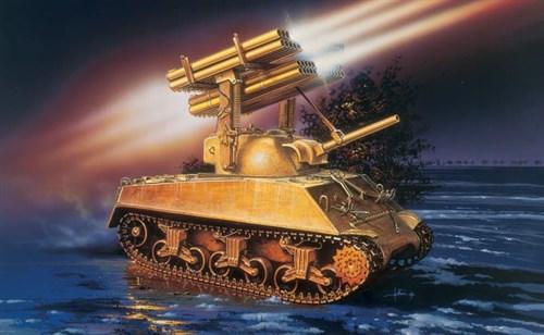 Танк  M4A3 SHERMAN CALLIOPE (1:35) - фото 21403