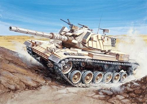 Танк  M60 BLAZER (1:35) - фото 21421