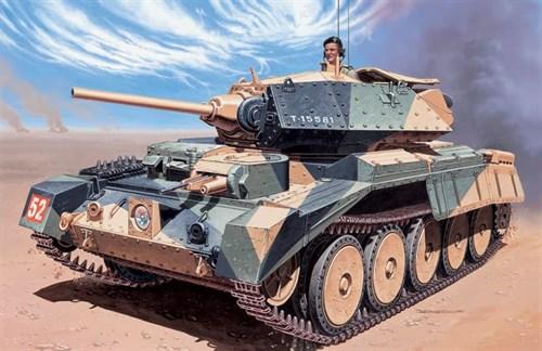 Танк  Crusader Mk.I (1:35) - фото 21432