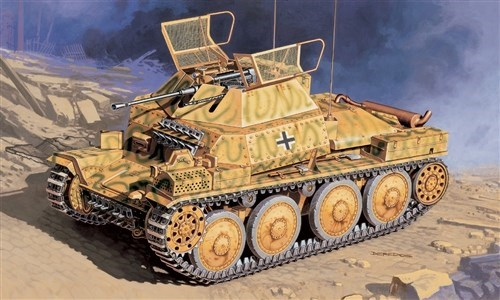 Танк  SD. KFZ.140/1 (1:35) - фото 21441