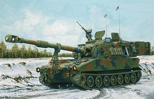 Танк  M-109 A6 PALADIN  (1:35) - фото 21472
