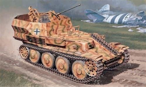 Танк  SD.KFZ. 140 FLAK PANZER 38 GEPARD (1:35) - фото 21480