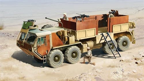 Автомобиль  M985 HEMTT Gun Truck (1:35) - фото 21528