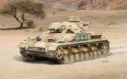 Танк  Pz. Kpfw. IV Ausf. F1/F2 Sd. Kfz. 161 (1:35) - фото 21538